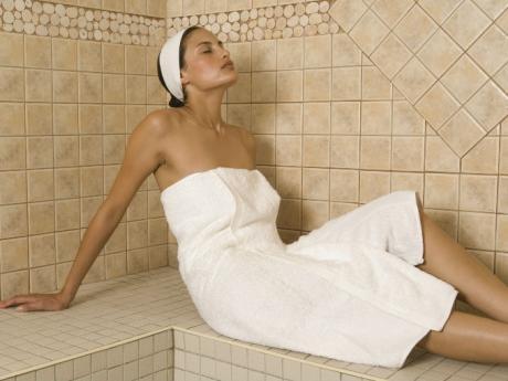 sauna las cuatro estaciones alojamiento en cariló